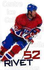 2003-04 Montreal Canadiens Postcards #19 Craig Rivet