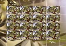 Croatia 2017 MNH Mediterranean Trees EUROMED Postal 16v M/S Nature Stamps