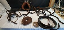 Carriage Driving Harness Full Leather Set