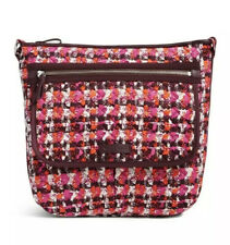Vera Bradley Iconic Mailbag Crossbody Purse Houndstooth TWeed NWT MSRP $88