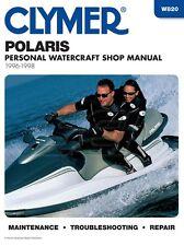 Clymer Polaris Personal Watercraft Shop Manual 1996-1998