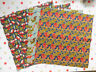 """Voysey Fabric for the V&A by Moda Fabrics 10"""" squares x 4 new 3 designs"""