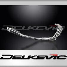 "Suzuki GSX750F KATANA Full 4-1 Exhaust 8"" Carbon Muffler 98-00 01 02 03 04 05 06"