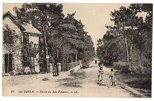 CPA 44 - LA BAULE (Loire Atlantique) - 37. Entrée du Bois d'Amour - LL