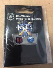 2018 NHL Winter Classic Head to Head Pin New York Rangers vs Buffalo Sabres