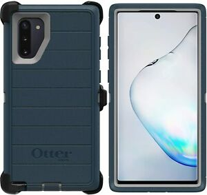 OtterBox Defender Rugged Case & Holster Samsung Galaxy NOTE 10, Gone Fishin Blue