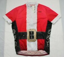 Primal Wear Men's Size XL Rare Santa Claus Kris Kringle Cycling Jersey NWT
