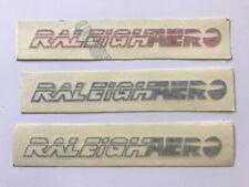 VINTAGE RALEIGH AERO BURNER BMX STICKERS NOS  80s