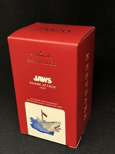 Hallmark 2020 Keepsake Ornament JAWS Shark Attack New In Box
