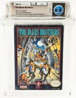1992 NES The Blues Brothers WATA CiB 8.0 9.6 9.4 (Nintendo Entertainment System)