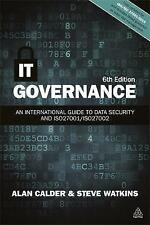 IT Governance: An International Guide to Data Security and ISO27001/ISO27002 by Steve Watkins, Alan Calder (Paperback, 2015)