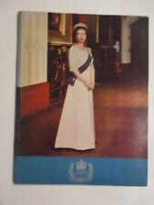 1977 QUEENS SILVER JUBILEE PROGRAM QUEEN ELIZABETH II