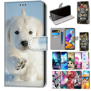 For Samsung Galaxy A11 A21S A71 A51 A42 5G 31 Case Pattern Wallet Leather  Cover