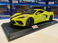 Maisto Special Edition 1:18 Scale Die-Cast Chevrolet 2020 C8 Corvette Stingray