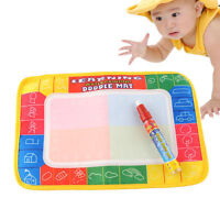 Funny Magic Water Drawing Painting Writing Board Mat Pen For Children Kids Toy