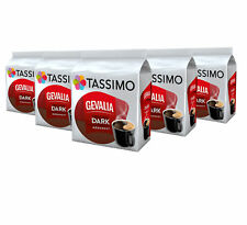 TASSIMO Gevalia Dark Coffee Capsules Refills Pods T-Discs Pack of 5, 80 Drinks