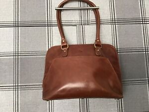 Ashwood Tan Leather Bag Large 14x10