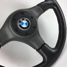 Nardi Black Line leather steering wheel. Genuine. BMW E30, E21, E36, E24 SUPERB!