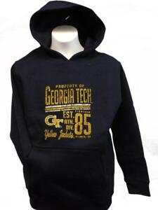 New Georgia Tech Yellow Jackets Youth Sizes S-M-L-XL Navy Hoodie $50