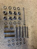 RD250 YPVS RD350YPVS CRANKCASE BOLTS NUTS WASHERS STAINLESS STEEL BANSHEE