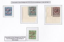 1922/Ireland/Ireland, N° 16A/18A Series Di 3 Values + Unissued MNH