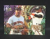 1996 Fleer Ultra Power Plus Insert #2 Barry Bonds AllStar MINT