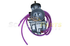 PWK38 Carburetor Carb 38mm Parts For Suzuki RM400 RM465 RM500 Dirt Pit Bikes