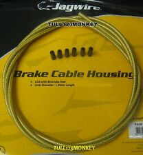 JAGWIRE -GOLD MEDAL CGX-SL OUTER BRAKE CABLE - 2 METRES  plus end ferrules