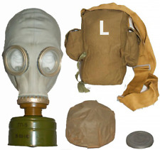 Russian Military Gas mask GP-5. Grey rubber. NEW Full set. Size 3