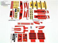 Custom Precut Aufkleber/Sticker passend für LEGO® 8258 Technic Crane Truck 2009