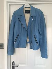 River Island Leather Jacket 16