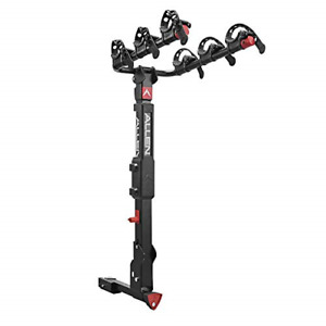Premier Locking Quick Release 3-Bike Carrier for 2 in. and 1 1/4 in. Hitch,