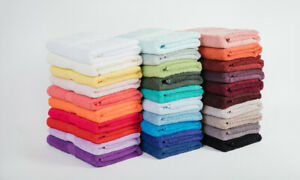 """""""Mildtouch"""" Combed Cotton Hand Towel (30 Colours Available) Flat Postage $8"""