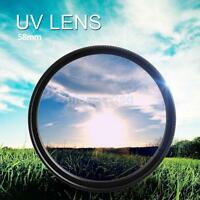 58mm UV ultraviolet Filter For Canon 1100D 1200D 500D 650D 750D 18-55mm Lens New