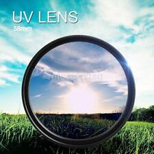 58mm UV ultraviolet Filter For Canon 1100D 1200D 500D 650D 750D 18-55mm Lens New