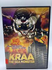 Kraa the Sea Monster (DVD, 1998) RARE VINTAGE movie