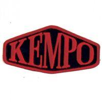 "Kempo Martial Arts Patch - 5"""