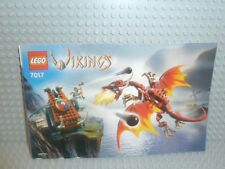 LEGO® Vikings Bauanleitung 7017 Viking Katapult instruction B721