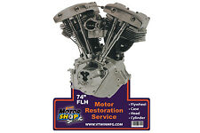 Shovelhead Engine Plaque For Harley-Davidson