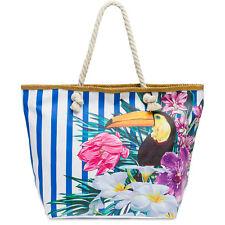 CASPAR TS1057 Damen Familien XL XXL Sommer Strandtasche Badetasche Shopper groß