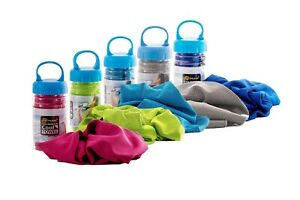 Kühltuch Cool Down Towel Gym Jogging Sonnenbrand Outdoor Sommerhitze Eiskalt neu
