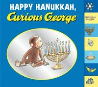 Happy Hanukkah, Curious George tabbed board book by H. A. Rey, Margret Rey