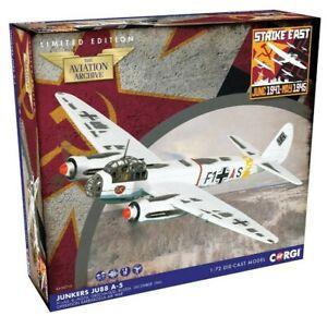 "New Corgi AA38713 1:72nd Scale Junkers Ju88A-5 ""Operation Barbarossa Model."