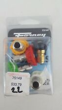 Forney 75149 4.5mm Quick Connect Spray Nozzle ( 0 15 25 40 & 65 Degree Nozzles )