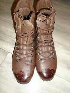 ALTBERG DEFENDER MENS COMBAT HIGH LIABILITY BOOTS SIZE 11L WIDE FIT BRITISH ARMY