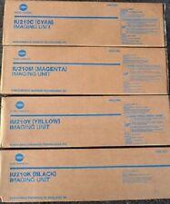 4 x Original Trommel Konica Bizhub C240 C250 C252 / IU-210 K/C/M/Y Imaging DRUM