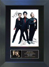 GREEN DAY Signed Mounted Reproduction Autograph Photo Prints A4 196