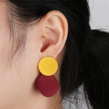 Boho Women Simple Geometric Circle Ear Stud Drop Dangle Earrings Fashion Designs
