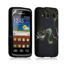 Housse coque étui gel pour Samsung Galaxy XCOVER S5690 motif LM14 + Film protect