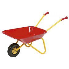 Rolly Toys Metallschubkarre Schubkarre Karre Kinderschubkarre rot/gelb